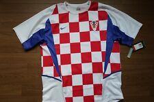 Croatia 100% Original Soccer Football Jersey 2002 World Cup Home L NWT [1082]