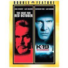 Hunt for Red October / K-19: The Widowmaker (DVD, 2008) (H)