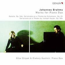 Chipak, Olha-Brahms: Works for Piano Duo (OVP)