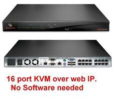 Avocent DSR4030 16 port 4 Remote IP User KVM Over IP Virtual Media Switch TESTED