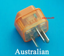 US AUS Euro UK to Australia China Universal Travel Adaptor AC Power Plug + Surge