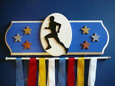 Running Male Sports Medal Display Hanger