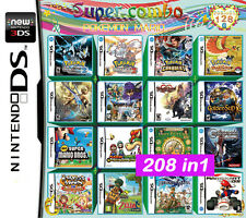 Game 208 in 1 - super capacity combination 128G nintendo DS DSLITE /DSi/3DS/Xl
