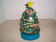 "Dylan's Candy Bar NY Christmas Tree Musical Tin 10.25"""