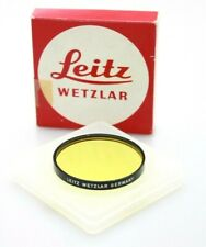 Leica Yell Series VII Filter. Fits 35mm Summilux PRE ASPH (hood) Boxed with Case