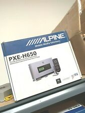 Alpine Pxe-H650 Car Audio System Integration Audio Processor Dsp Time Alignment