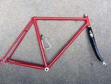 Nice 53cm Road Bike Steel Frameset w/ Headset & Bottom Bracket & Kestrel Fork