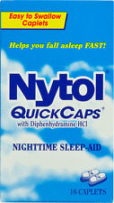 Nytol Nighttime Sleep Aid Quick Capsules 16ct -Expiration Date 05-2019-