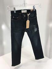 Abercrombie & Fitch Kids Boys Skinny Super Soft Jeans Dark Wash 5/6 NWT=