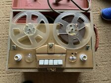 VINTAGE TUBE VOICE OF MUSIC REEL TO REEL PLAYER RECORDER WITH EXTRAS
