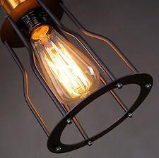 E27 Retro Vintage Industrie Pendelleuchte Hängeleuchte Metall Deckenlampe Antik