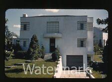 1940s kodachrome photo slide House exterior Dutch Boy Paint collection #7