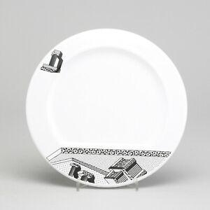 Ettore SOTTSASS 'Indivia' Ceramic Dinnerplate 1980s MEMPHIS Design Modern Design