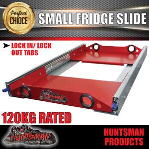 4wd Fridge Slide suit Waeco Evacool ARB Engel. 120kg slides. anodised alloy tray
