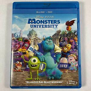 Monsters University BLU-RAY & DVD 3 Disc Set Disney Pixar 2013
