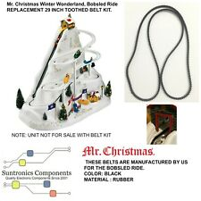 """Mr. Christmas Winter Wonderland, Bobsled Ride""""-  29 INCH TOOTHED BELT ONLY"""