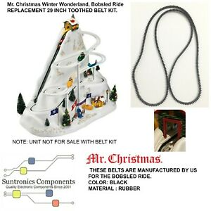 "Mr. Christmas Winter Wonderland, Bobsled Ride""-  29 INCH TOOTHED BELT ONLY"