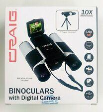 Craig Binoculars with Digital Video Camera 10X Magnifies 720p Hd, 1.5Lcd Display