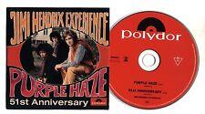 Cd JIMI HENDRIX Experience - Purple Haze - 51st Anniversary CDS single singolo