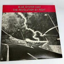 Blue Oyster Cult - The Revolution By Night 1983 - Vinyl Album LP Columbia 38947