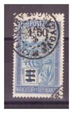 MADAGASCAR .   N° 152  . 1 F 50 SUR 1 F     OBLITERE  .SUPERBE
