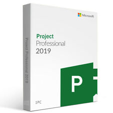 Microsoft Project Professional 2019 Retail - Genuine and Authentic Product