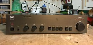 NAD 3020A Stereo Integrated Amplifier. Cleaned and Professionally Serviced.