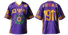 Omega Psi Phi Purple Fraternity football jersey Q-Dog Omega Jersey 1911 Sobat