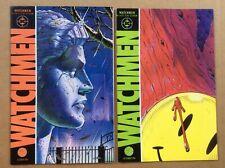 Watchmen 1-12 Complete 1986 Dc Series 1st Prints Alan Moor Dave Gibbons