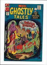 """GHOSTLY TALES #96  [1972 VG-FN]  DITKO COVER!  """"THE DEVIL'S BRIDE!"""""""