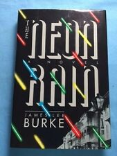 THE NEON RAIN - INSCRIBED BY JAMES LEE BURKE