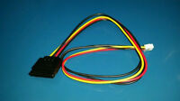 Power SATA to Mini Molex floppy adapter cable Serial ATA to 4 Pin Molex NEW OEM