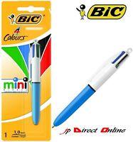 BiC ORIGINAL Pen Mini 4 in 1 COLOURS Ball Point retractable Pen Multi Coloured