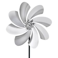 Garden Wind Spinner Metal Pinwheel Yard Kinetic Outdoor Decor Stainless Steel