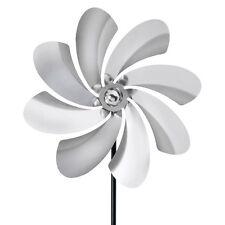 Garden Wind Spinner Metal Pinwheel Yard Kinetic Outdoor Decor Stainless Steel