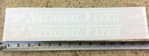 National Flyer Coaster Wagon Pull Toy Replacement Stickers WA-009