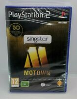 SingStar Motown for Sony PlayStation 2 PS2 BRAND NEW & SEALED