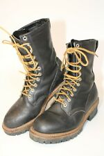 Red Wing Mens Size 7.5 D Leather Mid Lace Up Soft Toe USA Made Work Boots 991127