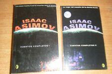 CUENTOS COMPLETOS I II ISAAC ASIMOV COMPLETA EDICIONES B BYBLOS RUSTICA