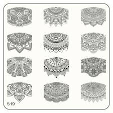 MoYou Nails Schablone Ethnic Style 519 Mandala Stempelplatte Stamping Schablone