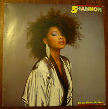 Shannon on Mirage 90267-1 – Do You Wanna Get Away – 1985