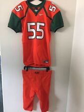 Nike University of Miami Football Jersey- Mens Large #55