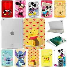 Cartoon Mickey Pattern Slim Smart Magnetic PU Leather Case Cover For iPad 12.9""