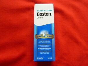 Bausch and Lomb Boston contact lens cleaner 30ml brand new expiry date Nov2022 C