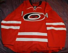 Nathan Gerbe Carolina Hurricanes Game Worn Used Jersey LOA Authentic