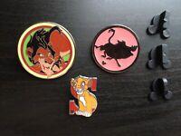 Disney Lion King Simba Pumba Scar Mystery Villain 3x Pin Badge Set joblot