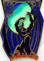Disney Pin 38340 DLRP Chernabog Mystery Disneyland Paris Fantasia Villain LE