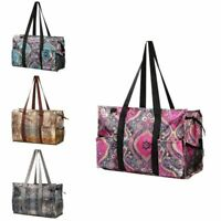 Women All Purpose Utility Tote Carry Bag for Shopping Travel Camping Vacation