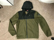 Element Mens Jacekt, Size M, Olive Green And Black, Genuine, Free P&P
