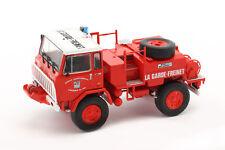 Unic 75 PC la Garde-freinet bombero Rojo/blanco 1 43 Atlas
